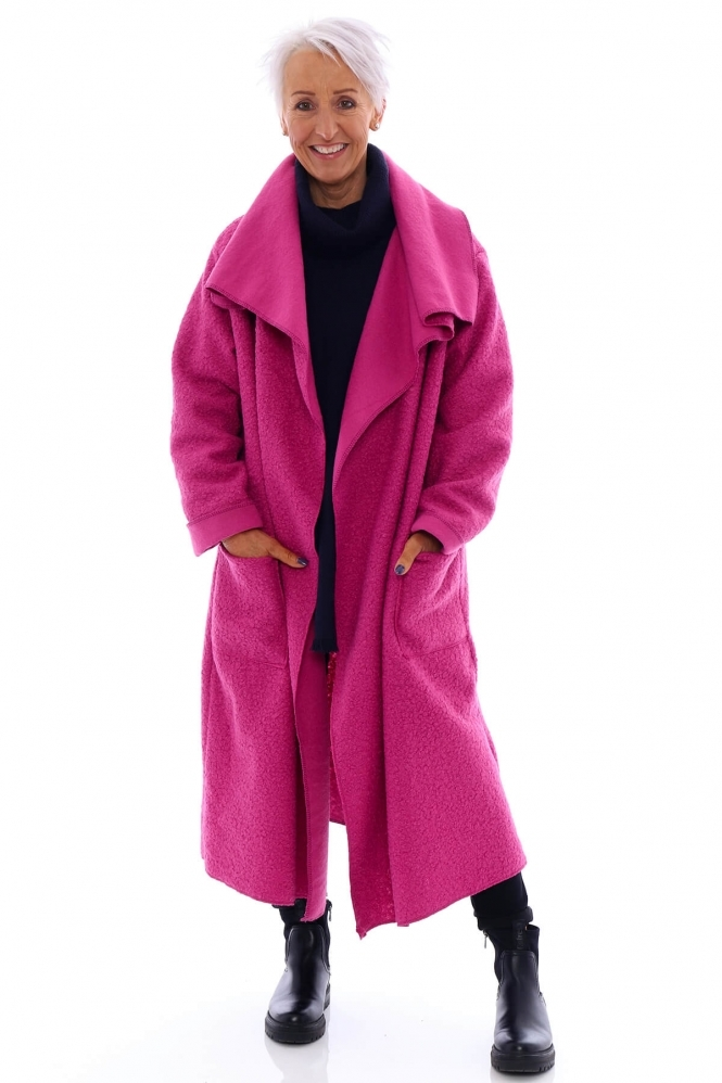 Made in Italy Phoebe Boucle Coat