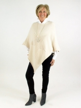 Made in Italy Portsmouth Star Poncho