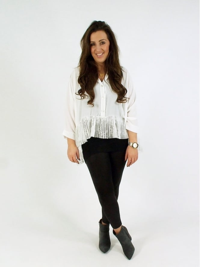 Made in Italy Radfall Lace Shirt