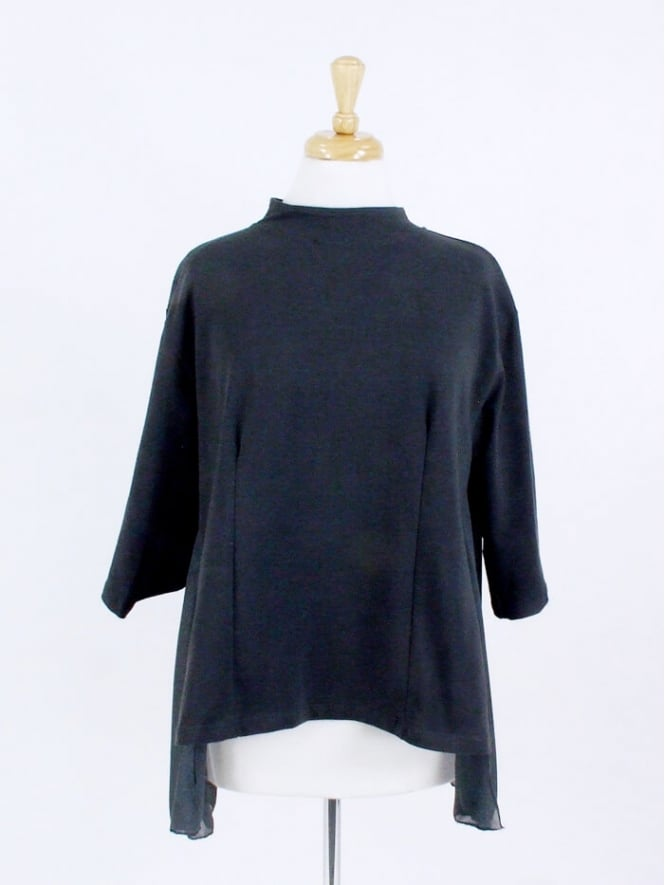 Kit and Kaboodal Made in Italy Risca Chiffon Back Top