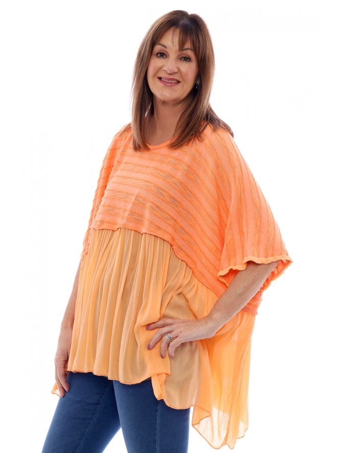 Made in Italy Roxton Frill Top
