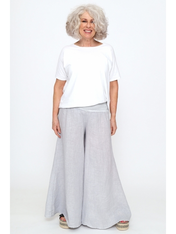 Made in Italy Sabbia Linen Trousers