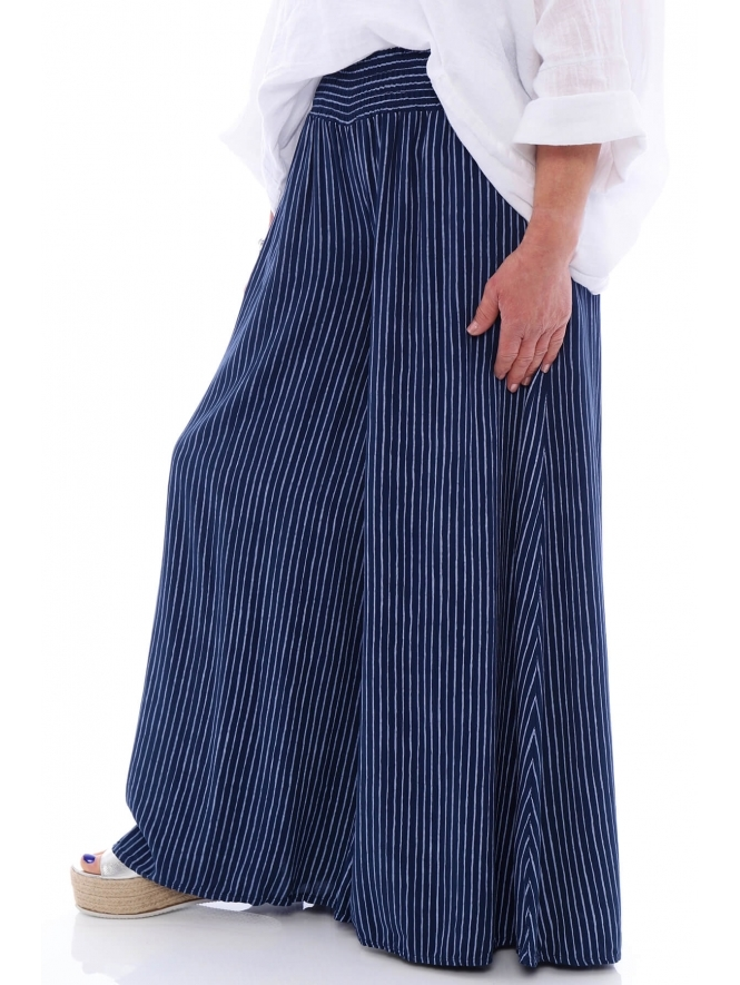 Made in Italy Sabbia Stripe Trousers