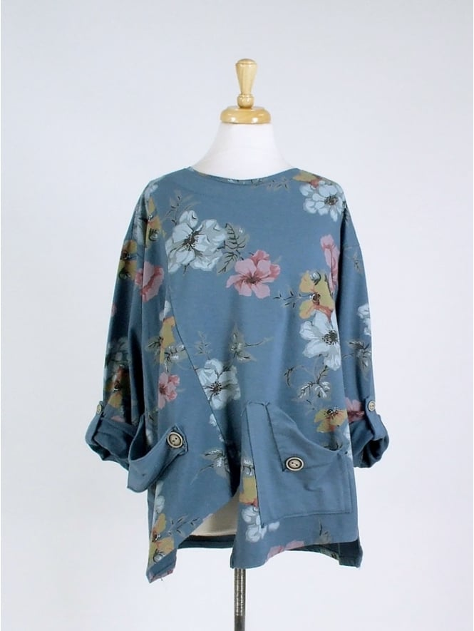 Made in Italy Sanda Floral Sweatshirt