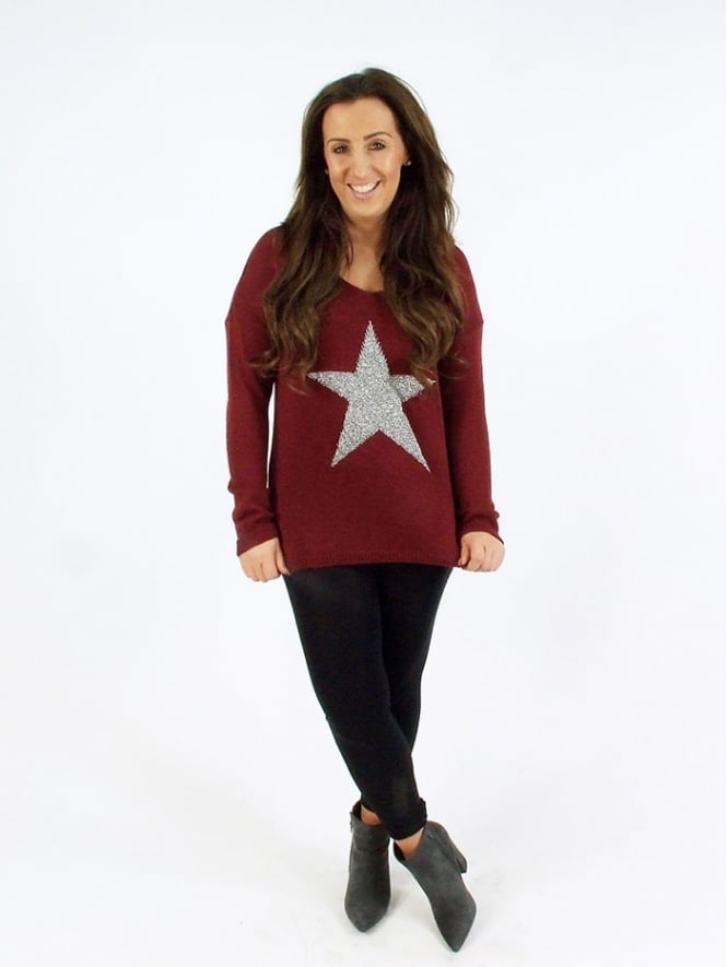 Made in Italy Sixpenny Star Jumper
