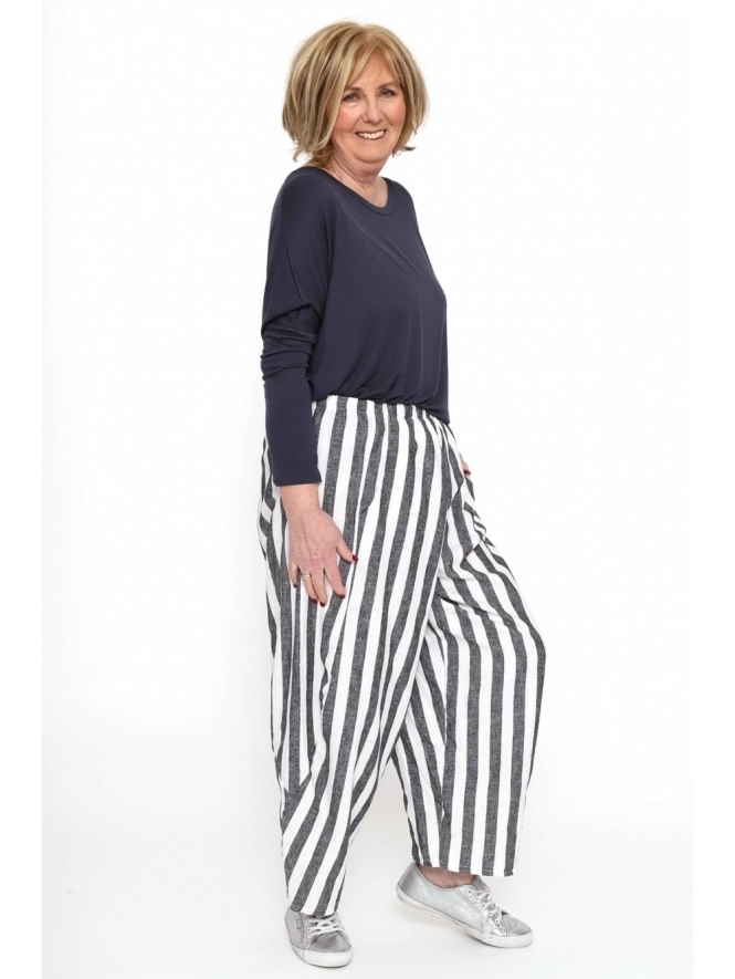 Made in Italy St Tropez Stripe Trousers