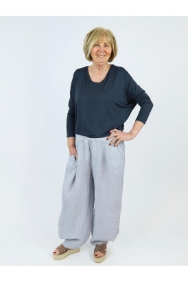 Made in Italy Subiaco Linen Trousers
