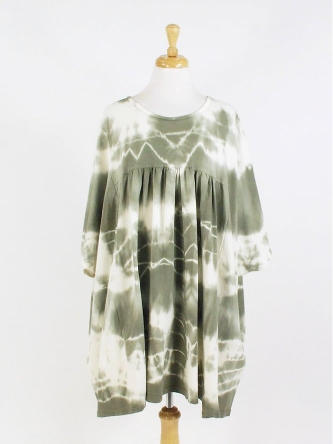 Made in Italy Tetbury Tie Dye Cotton Tunic