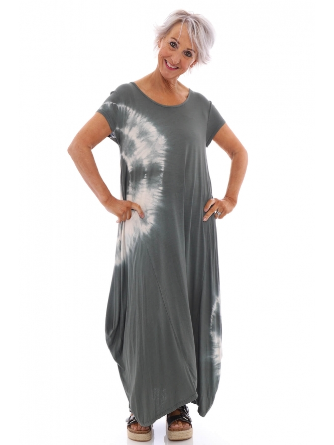Made in Italy Tuxford Tie Dye Dress