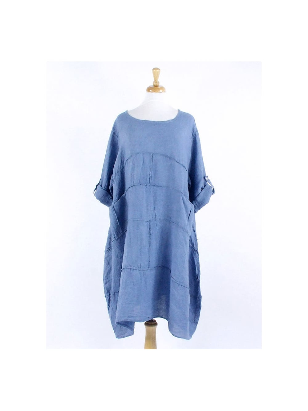 Made In Italy Wimpole Linen Tunic Dress Kit And Kaboodal