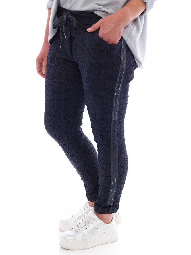 Made in Italy Yarwell Patterned Joggers