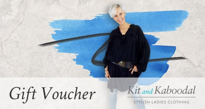 Gift Voucher Blue Paint